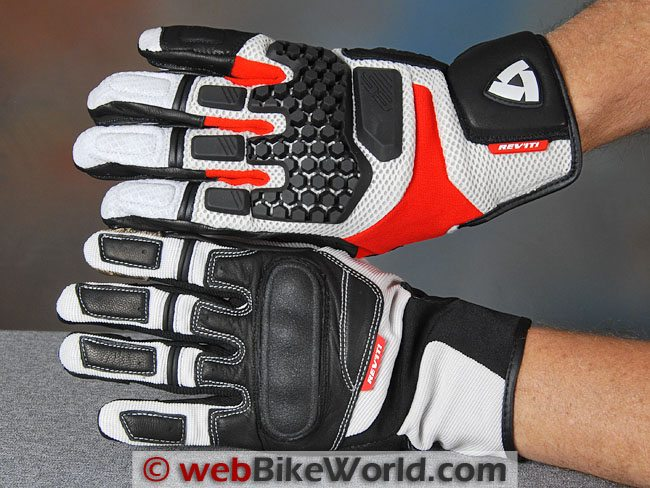 REV'IT! Sand Pro and Striker Gloves