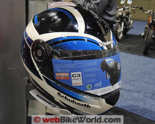 SCHUBERTH C3 Pro Blue Black