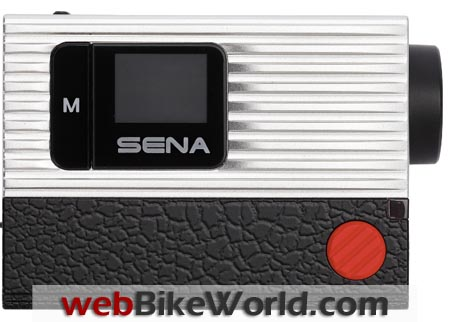 Sena Bluetooth Action Camera Side View