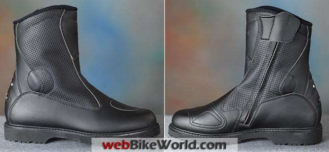 Sidi Traffic Air Boots Side Views