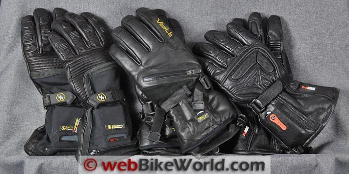 Battery Heated Motorcycle Gloves