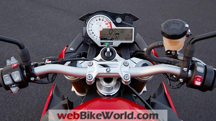 BMW S 1000 R Dashboard
