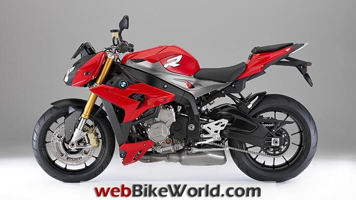BMW S 1000 R Red