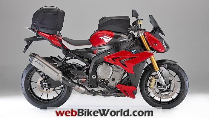 BMW S 1000 R With Touring Accessories