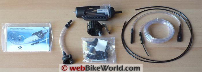 BMW Scottoiler Kit Contents