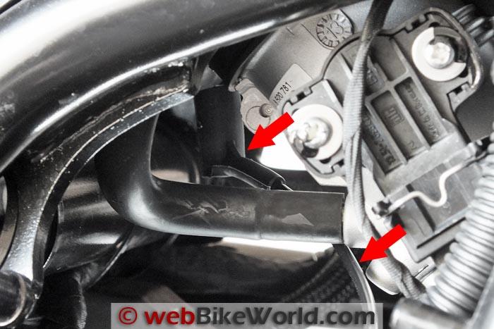 BMW Scottoiler Vacuum Take-off