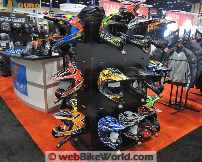 Fulmer RX4 Helmets at AIMExpo