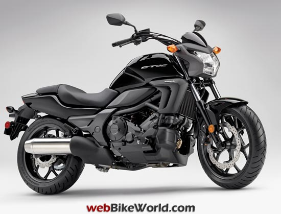 Honda CTX700N Black