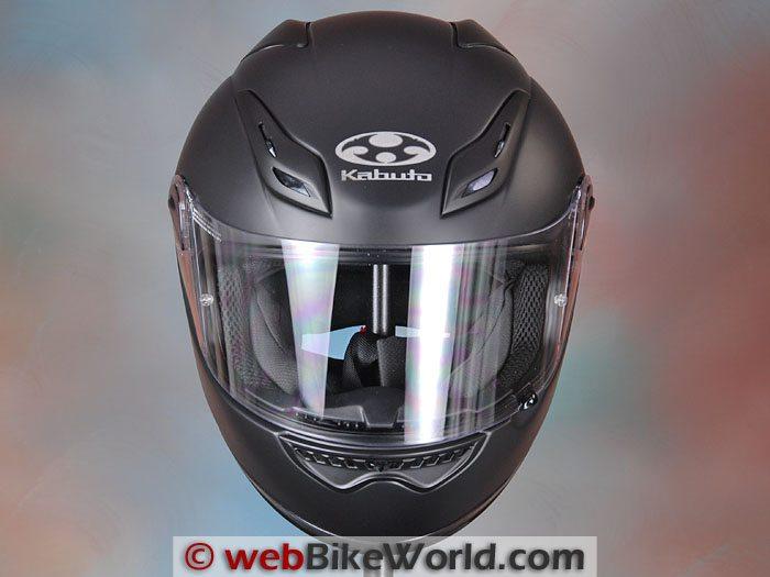 Kabuto FF-5V Helmet Front View