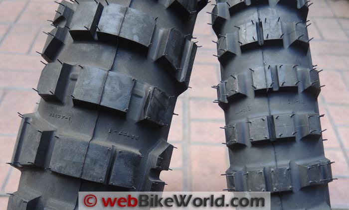 Michelin T63 Front and Rear Tires