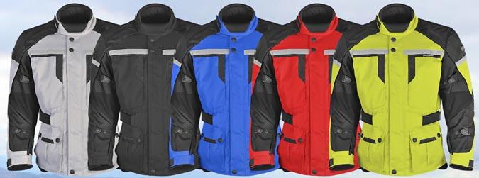 Pilot Trans-Urban Jacket Colors