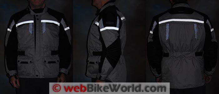 Pilot Trans-Urban Jacket Reflectivity