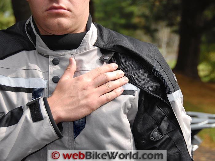 Pilot Trans-Urban Jacket Shoulder Vent