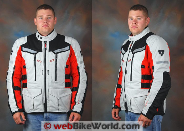 REV'IT! Sand 2 Jacket Front and Side Views