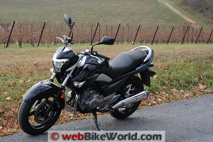 Suzuki GW250 Right Front Side Vineyard