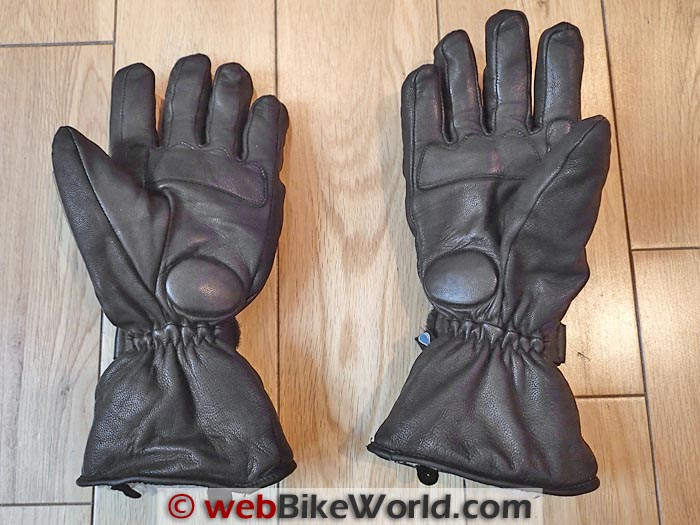 Tucano Urbano Gloves Palm View