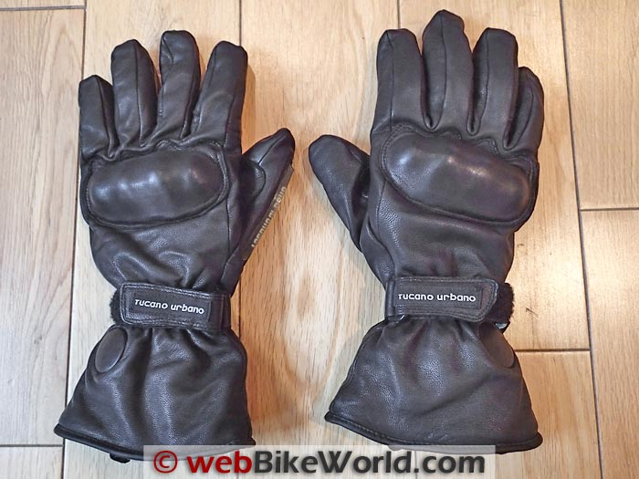 Tucano Urbano Gloves Top Side