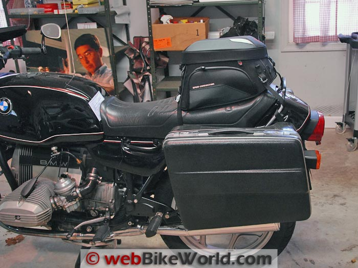 Bags-Connection EVO Rear Bag on BMW R65
