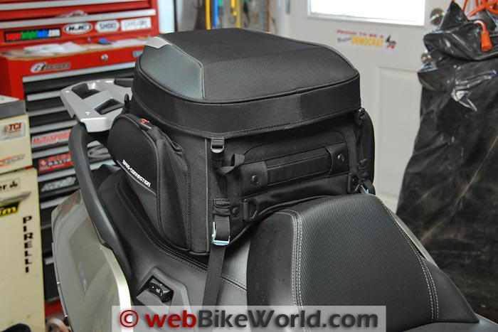 Bags-Connection EVO Rear Bag on BMW Scooter