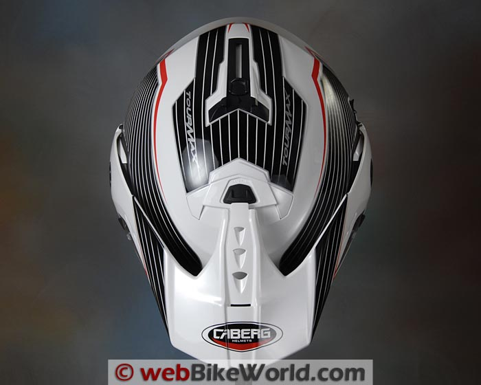 Caberg Tourmax Helmet Top View