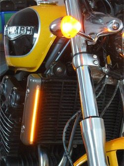 Motorcycle LED turn signal