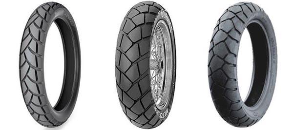 Michelin Anakee 2, Metzeler Tourance and Heidenau K76 Rear Tires