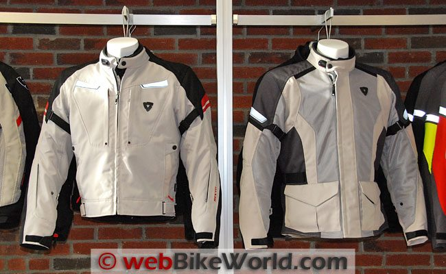REV'IT! Excalibur and Levante Jackets