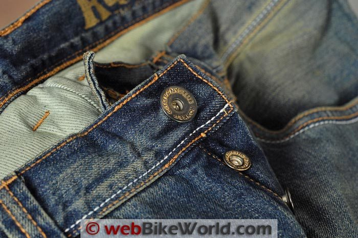 Rokker Original Jeans Waist Button