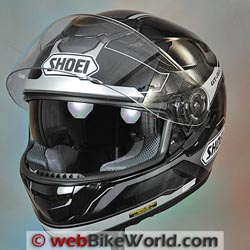 Shoei GT Air webBikeWorld Motorcycle Helmet of the Year