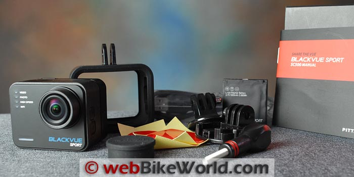 BlackVue Sport SC500 Video Camera Kit