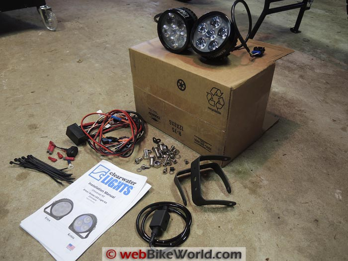 Erica Light Kit Components