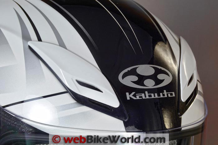 Kabuto Aeroblade III Top Vents