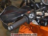 KTM 1190 Adventure Left Side Controls