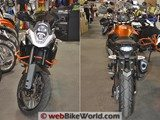 KTM 1190 Adventure R Front and Adventure Rear