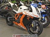 KTM RC8 Also in the Showroom