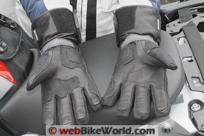 Racer Advance Gloves Palm Close-up