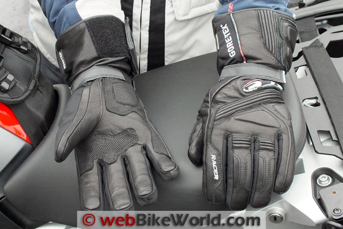 Racer Advance Gloves Top and Bottom
