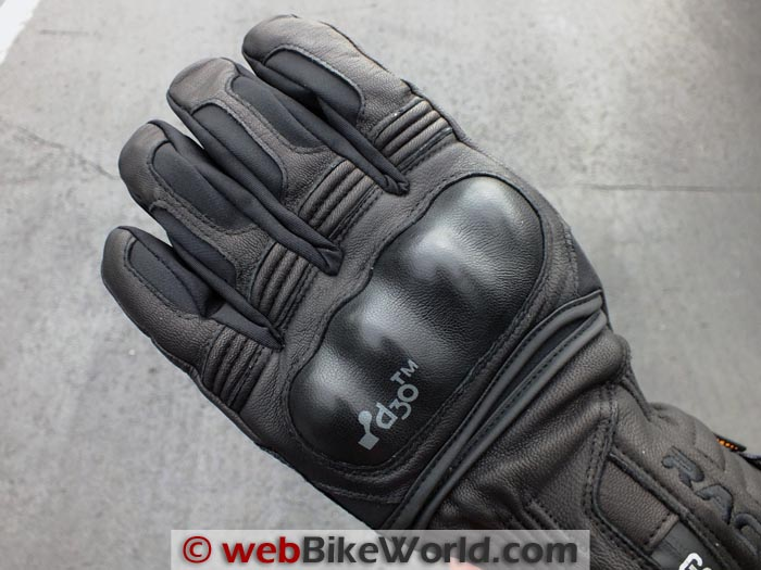 Racer Elevate Gloves Main Knuckle Protector