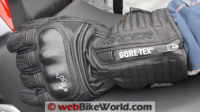 Racer Elevate Gloves Zipper