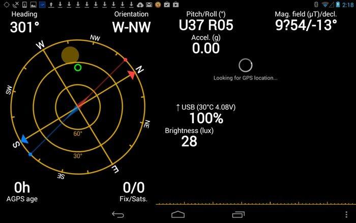 GPS Status App