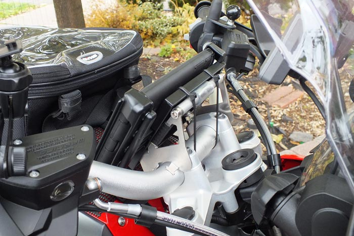 Nexus 7 GPS on Touratech Mount