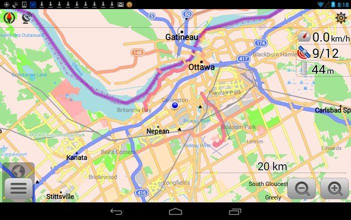 OSMAnd App