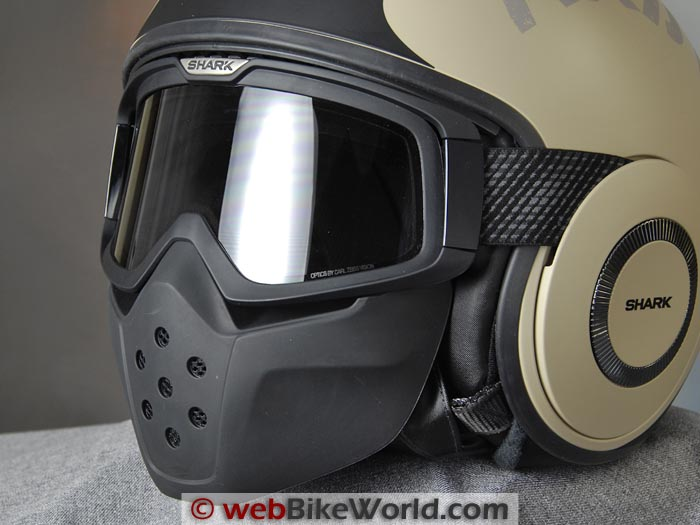 Shark Raw Helmet Lower Vents
