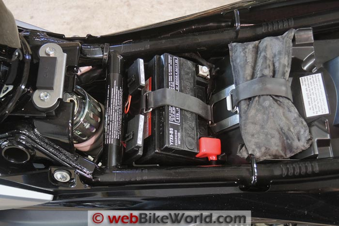 Suzuki GW250 Underseat Storage