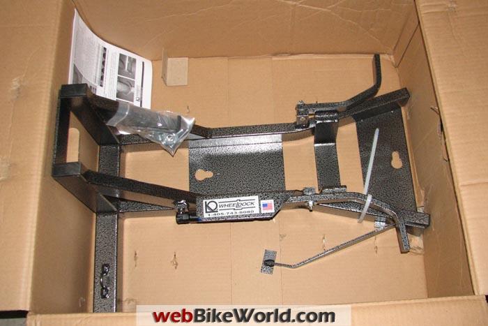 Wheeldock Kit in Box