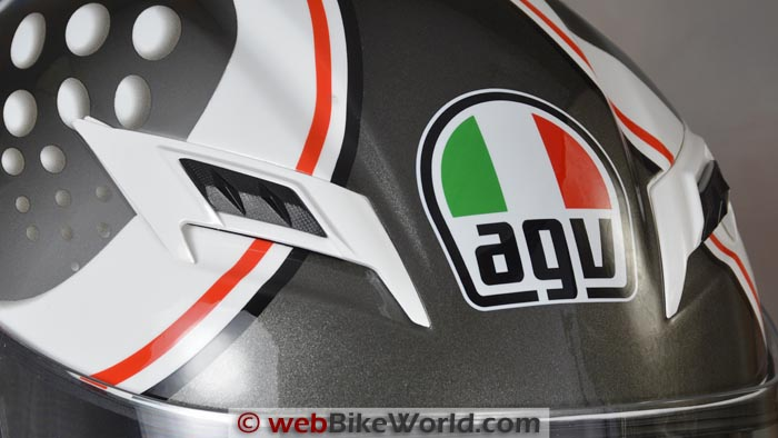 AGV Skyline Top Vents
