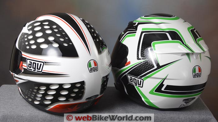 AGV Skyline vs. AGV Horizon Rear View