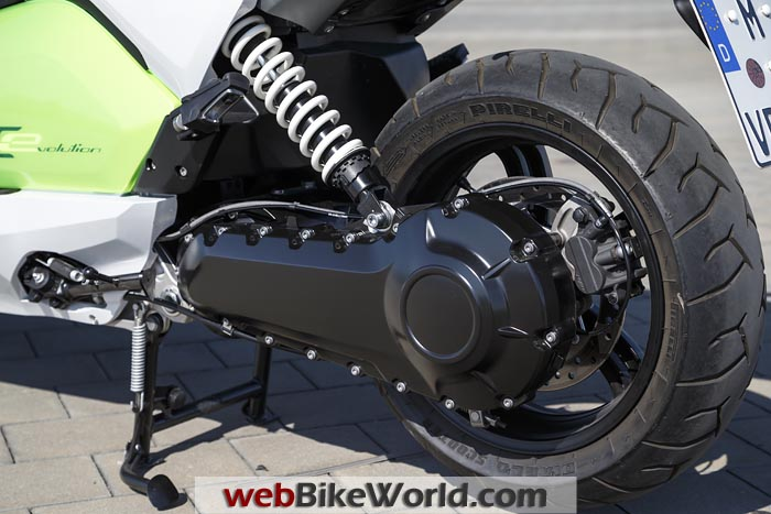 BMW C Evolution Scooter Rear Drive