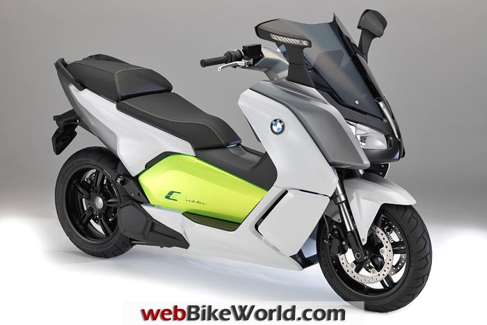 BMW C Evolution Scooter Right Front