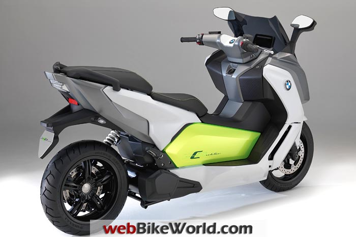 BMW C Evolution Scooter Right Rear